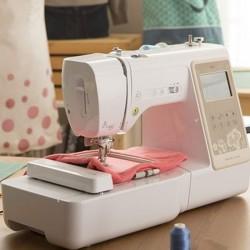 Uso de la máquina de coser