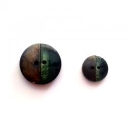 Botones Latón-Verde