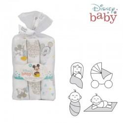 Gasa Bebé Mickey Mouse pack 3