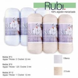 Hilo perlé Rubí 100% algodón